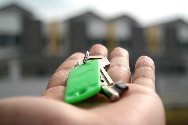 předání klíčů
