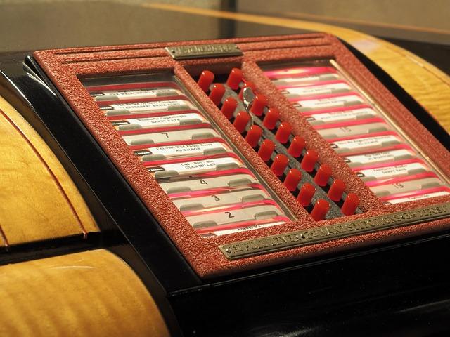 hudební automat retro